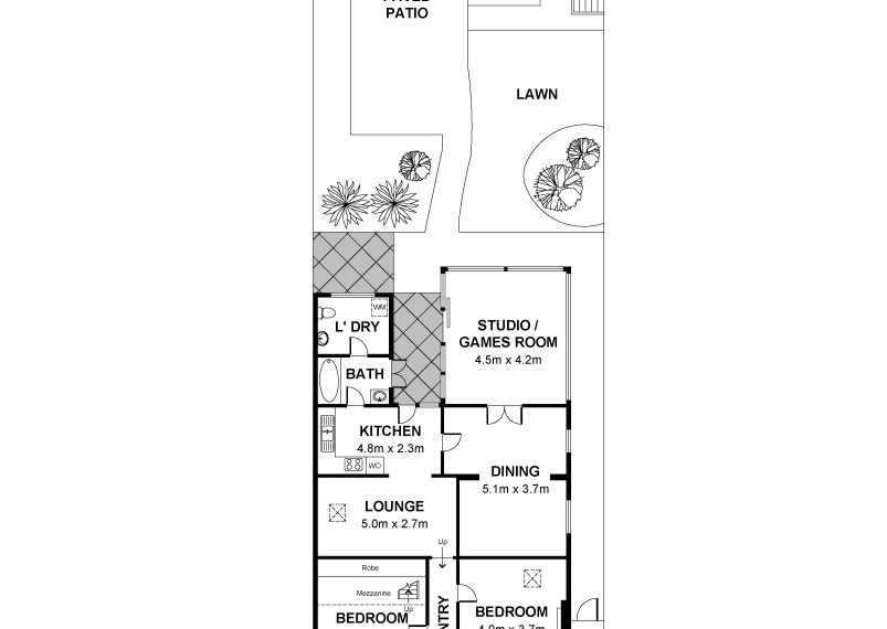 144 Drayton - Floor Plan